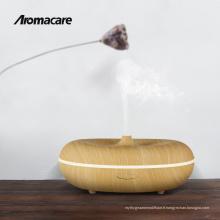 2018 Nouvelles Inventions Bois Finition Aromathérapie Huiles Essentielles Diffuseur Mini Fogger Ultrasons Nébuliseur