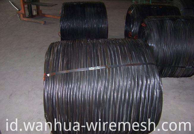 BWG18 1.2mm Building material black annealed binding wire (1)