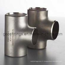 Raccords de tuyaux en acier inoxydable, Tee PED 3.1 Equal
