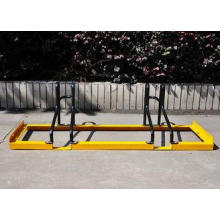 Heavy Duty Steel Floor Bicycle Display Stand At Supermarket