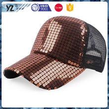 Sombrero del camionero del precio bajo de la venta directa de la fábrica con diseño del cráneo para la promoción