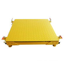 500KG Movable Platform Scale With Wheels
