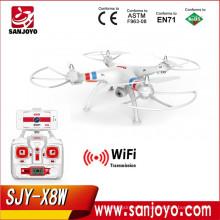 2016 Nueva actualización Syma X8W Quadcopter wifi FPV Quadcopter Syma drone 2.4Ghz 4CH