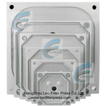 Placas de prensa de filtro, reemplazo de placa de filtro de cámara empotrada para prensas de filtro Leo