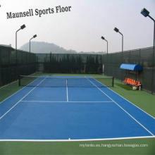 De Buena Calidad De plástico de tenis de vinilo de deporte de suelo