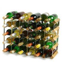 2020 Customized wood and metal wine display rack shelf wine cellar racks for home or restaurant