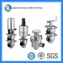 High Quality Sanitary Stainless Steel Pneumatic Reversing Valve