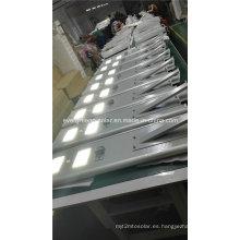 Luz LED solar al aire libre Luz de calle solar todo en uno