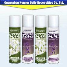 China Fabricante de hojalata Spray puede ambientador especial de flores de aire
