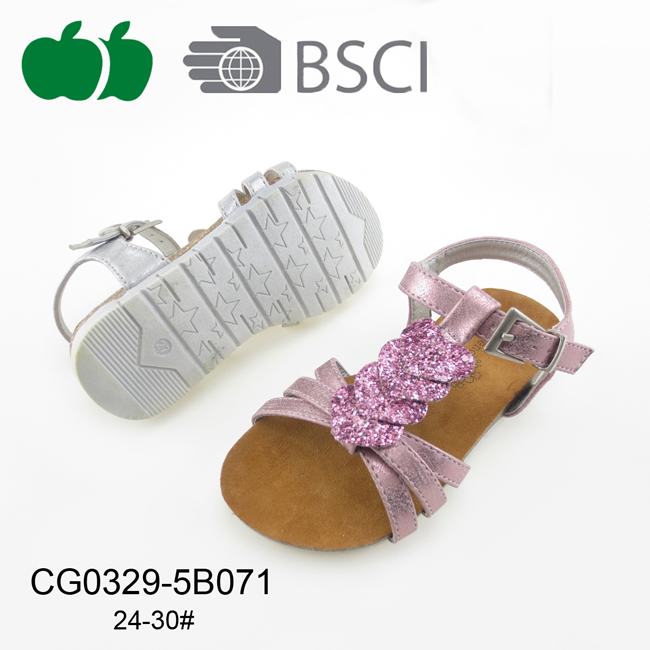 High Quality Flat Summer Girl Outdoor Sandals
