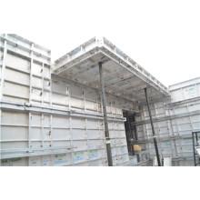 Système de coffrage de colonne d'alliage d'aluminium