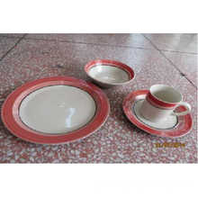 Featured Ceramic Color Drawn Table Dinnerset