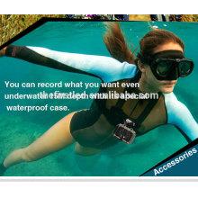 Appareil photo iShare S200 HD Sport 1080P Casque caméra vidéo sous-marin Sport DV mini caméra sous-marine