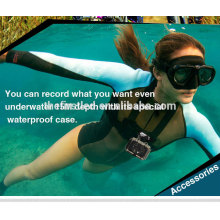 IShare S200 HD Sport Câmera 1080P Subaquática IP Camcorder Helmet Esporte DV mergulho subaquática mini câmera
