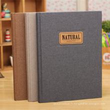 Cahier à couverture rigide de papeterie de haute qualité / fournitures de bureau