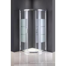 Sanitärkeramik Duschraum Glastür ohne Tablett