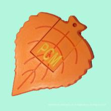 Movimentação personalizada por atacado da pena do flash do PVC do 2D & 3D USB para presentes relativos à promoção