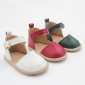 Christmas Leather Red Baby Shoes Girls