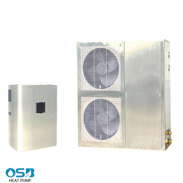 Stainless Steel Cabinet Air to Water Heat Pump