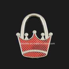 Gancho da bolsa da coroa para presentes de casamento