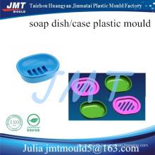 inyección de plástico de alta diseñado jabón plato molde Herramientas