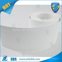 Coquille d'oeufs indique le papier étiquette de sécurité de ZOLO