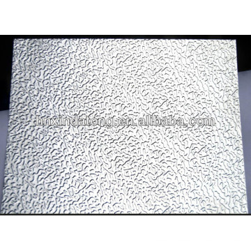 stucco embossed aluminum plate for refrigerator inner wall board
