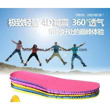 Nouveau design respirant doux basket-ball course chaussures semelle intérieure sport (ff627-3)