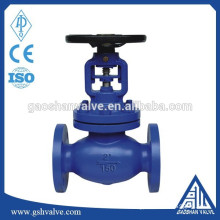 ansi standard bellows seal globe valve