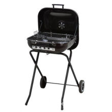 Barbecue Grill, Made of Carbon Steel, 68.5X50X81cm Size, Hamburger Shape