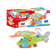 Cartoon Children Battery Operated Plane with Music (10199508)