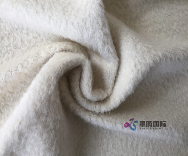 2018 Winter White Alpaca Fabric