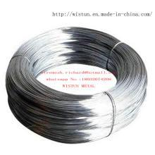 Alambre de metal galvanizado en la fábrica de fabricación de China