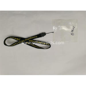 Silk Screen Printed Badge Holders Lanyards