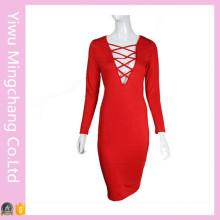 Plus Size Adulto Hot Sexy Night Club Dress (Vestido 153)