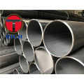 Straight seam welded pipe