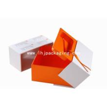 Caja de papel de regalo de embalaje electrónico de alta calidad
