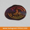 2D DOT Matrix Laser Custom 3D Hologramm Etikett