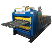 Tiga Layer Roofing Panel Roll Roll Forming Machine