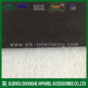 Polyester tricot fusible apparel interlining for suit