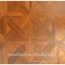 Pavimento em soalho de madeira maciça em camadas TEAK PARQUET FLOOR