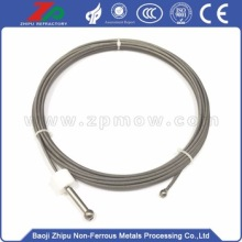 Bottom price for Tungsten Wire Dia3.0Tungsten twisted rope for vaccum fuenace supply to Grenada Manufacturer