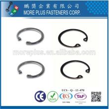 Fabriqué en acier inoxydable en acier inoxydable anneau de retenue interne circulaire interne DIN472