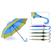 Border Design Automatic Straight Umbrella (YS-SA23083929R)