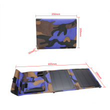 10W Foldable Flexible Waterproof Solar Charger with USB Port
