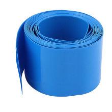 Дешевые термоусаживаемая трубка 25 мм синий ПВХ термоусадочная трубка изоляции кабеля рукава