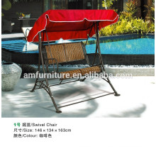 outdoor rattan swing hanging chairs for garden furniture