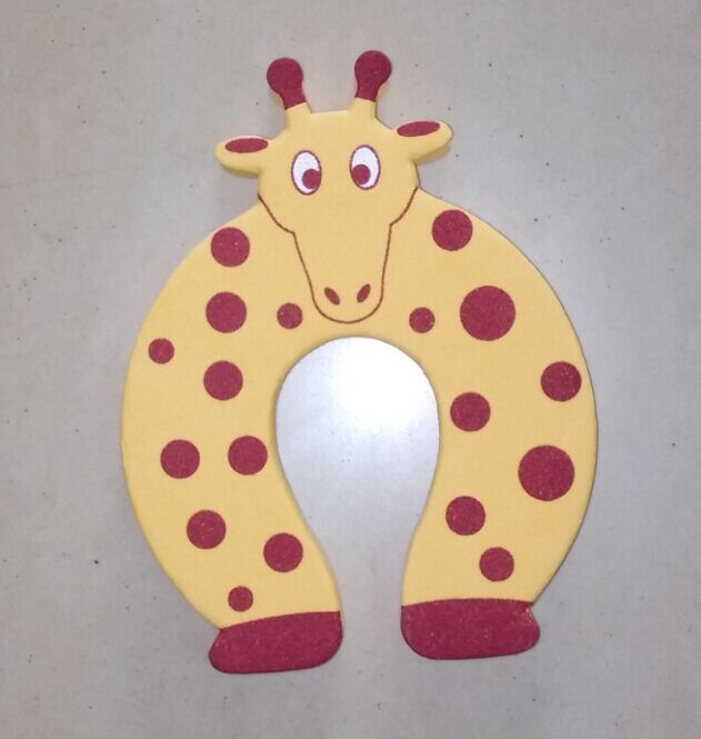 EVA Door Stopper with Giraffe Shape