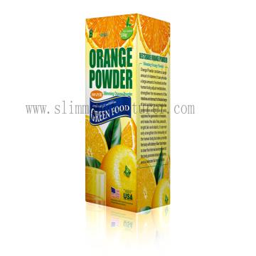 Лучше всего поделиться потеря веса оранжевый фруктовый порошок