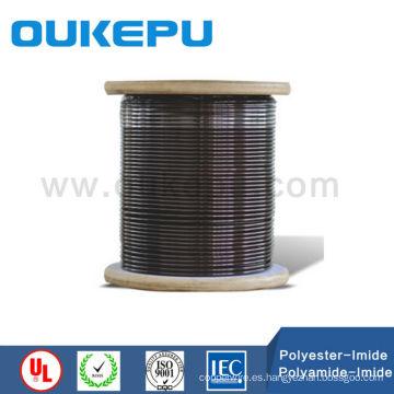 exportador de poliester super alambre de aluminio esmaltado